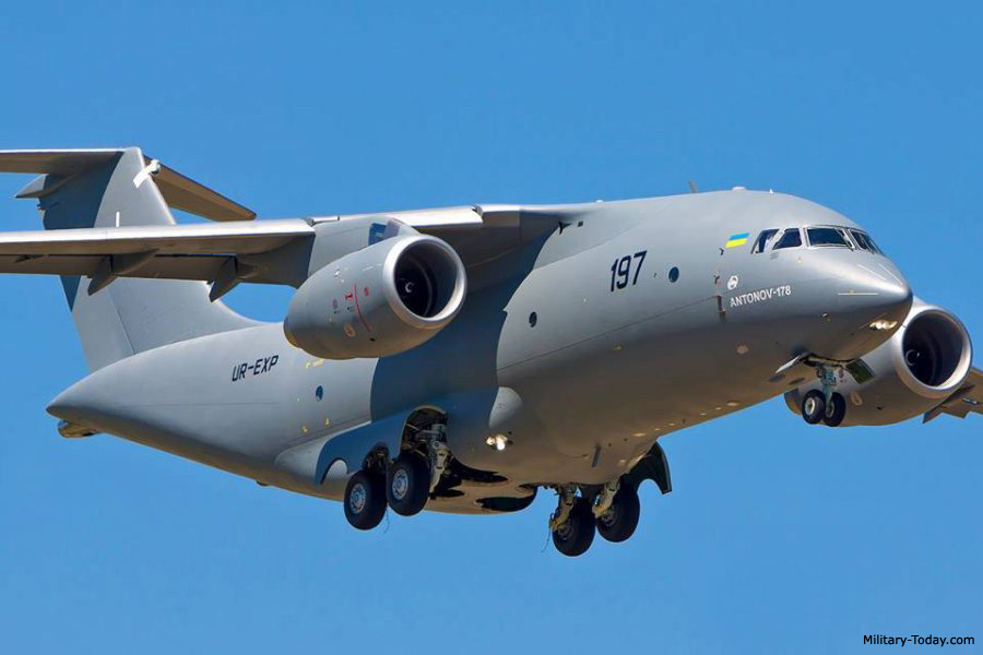 C 130 Military Transport Aircraft An-178 Images