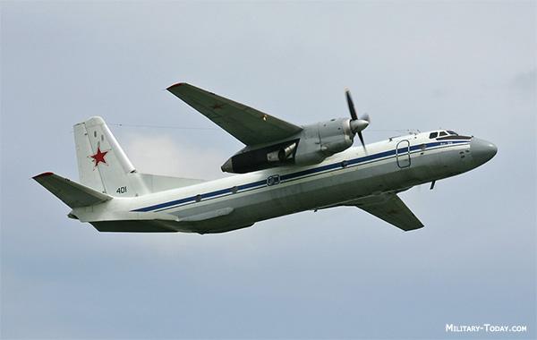 An-26 Curl aircraft