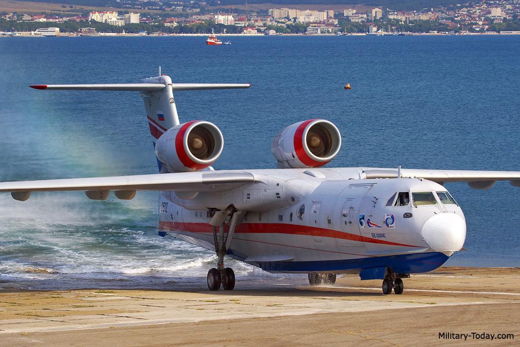 Be-200 aircraft
