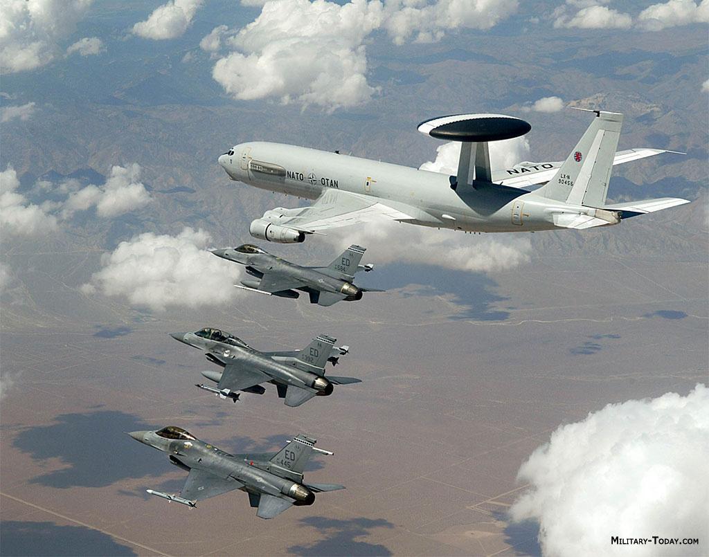 E-3 Sentry AWACS  E 3