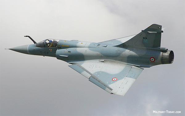 Mirage 2000B/C fighter