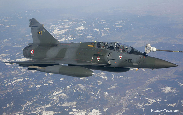 Mirage 2000D/N attack aircraft