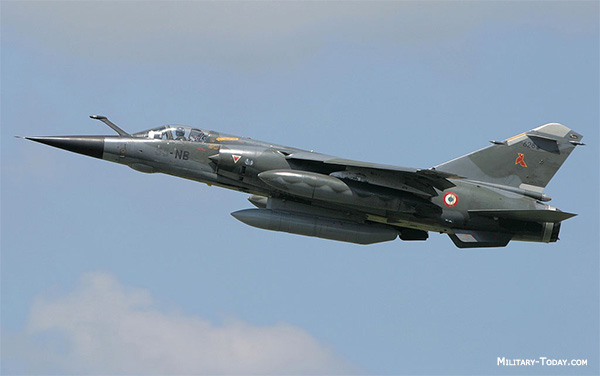 Mirage F1 fighter