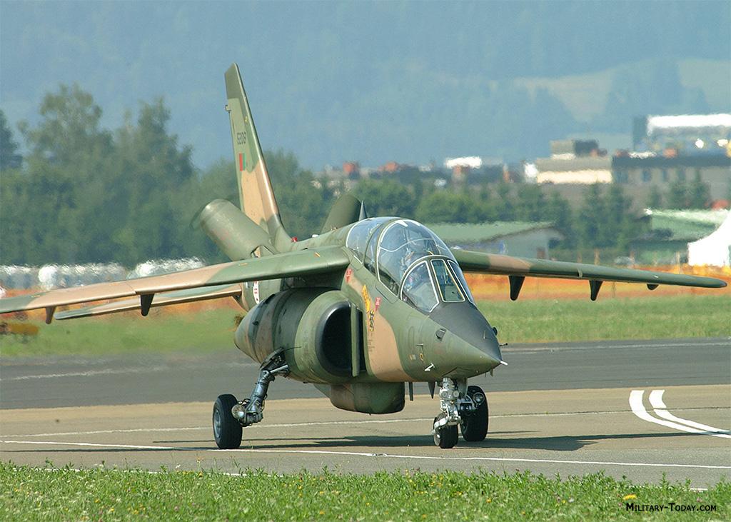 Alpha Jet trainer