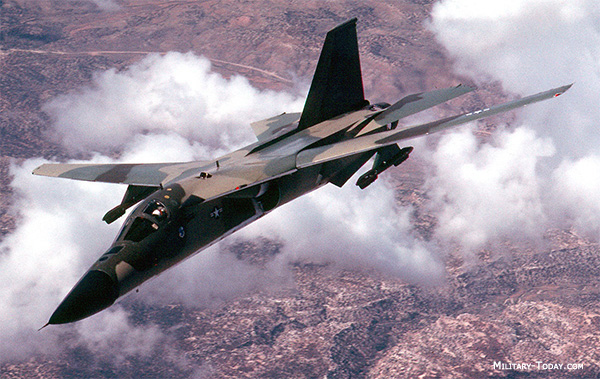 F-111 Aardvark Tactical Bomber | Military-Today.com