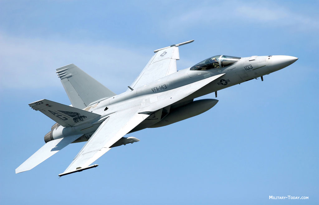 Boeing F/A-18E/F Super Hornet Multi-Role Fighter | Military-Today.com
