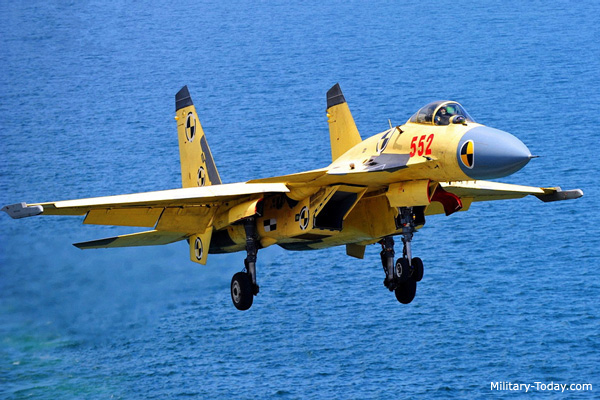 Shenyang J-15 Carrierborne Air Superiority Fighter ...