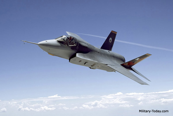 F-35 multi-role fighter. The Lockheed Martin