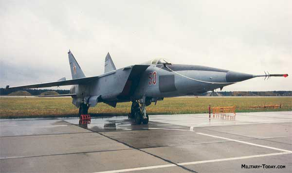 Mikoyan MiG-25 Foxbat