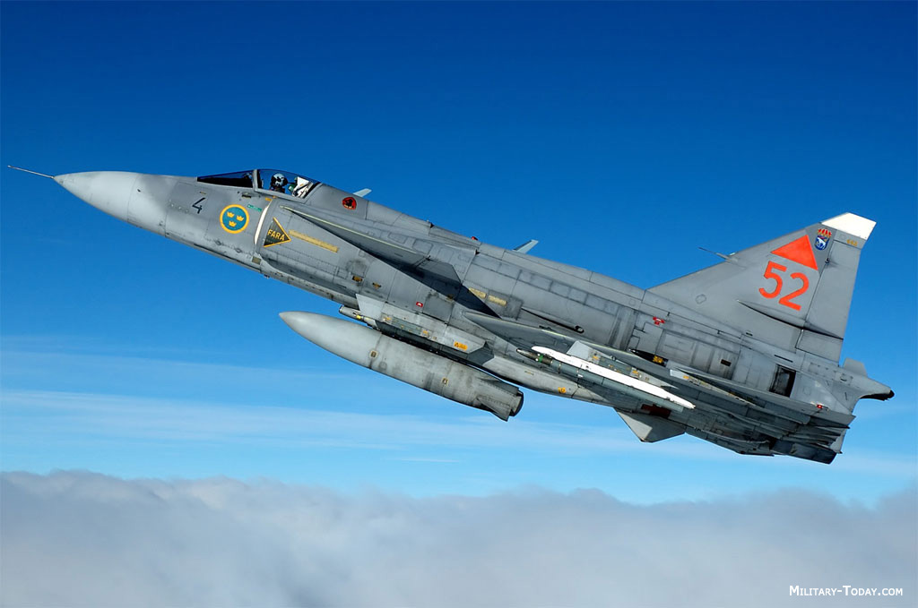 Saab 37 Viggen. Attack and Interdiction Aircraft. Saab 37 Viggen.