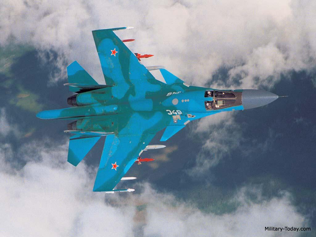 Sukhoi Su-34 Fullback Images