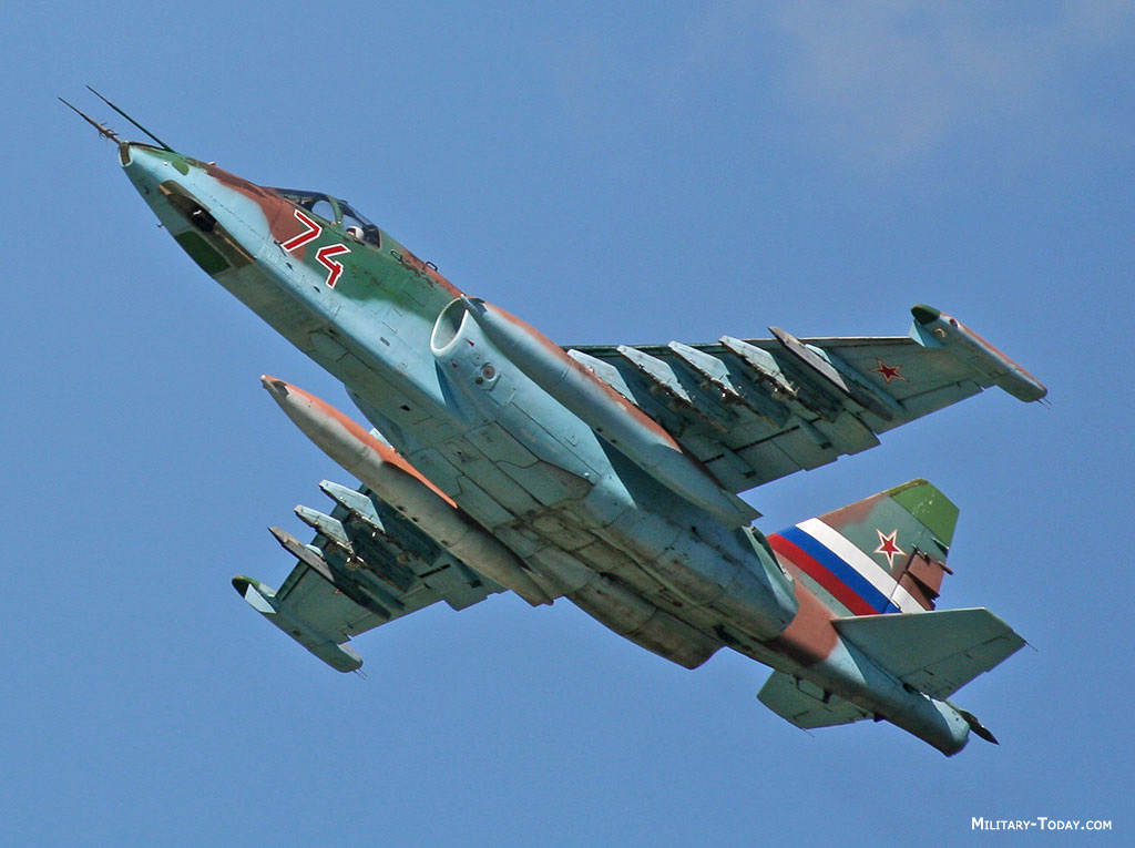 Sukhoi Su-25 Fighter Jets