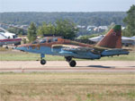 Sukhoi Su-25UB Frogfoot two-seat trainer