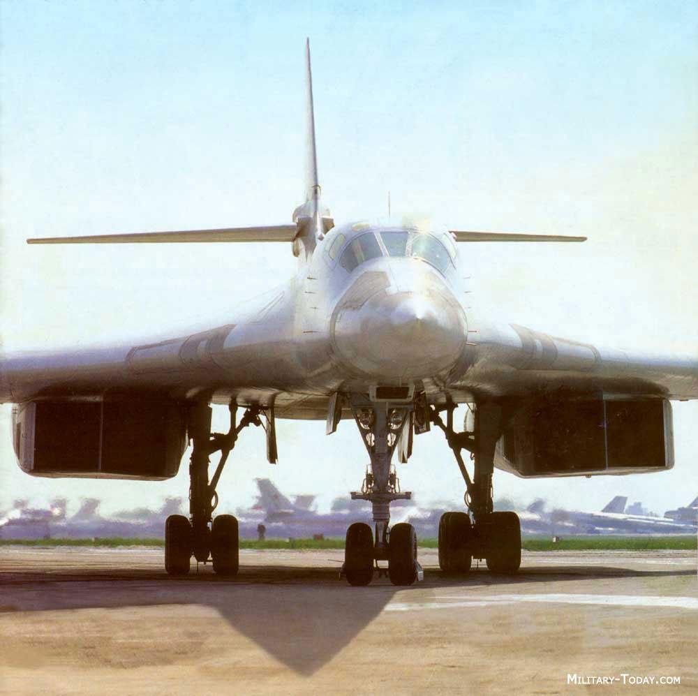 Tu: Tupolev Tu-160 Blackjack Images