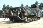 AAV7 amphibious assault vehicle