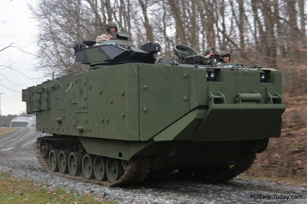 AAV7 Survivability Upgrade