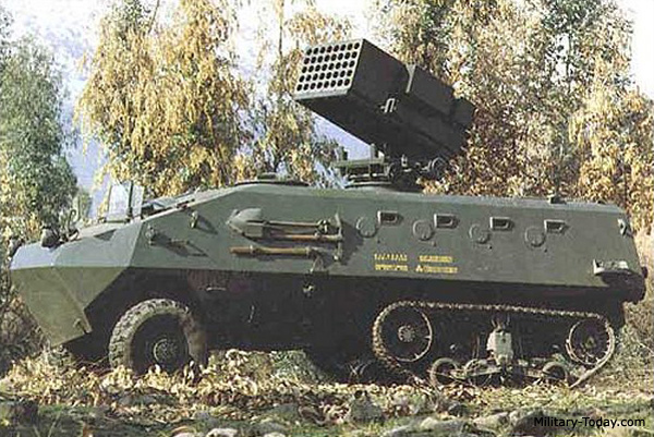 المدرعة التشيلية BMS-1 Alacran   Alacran