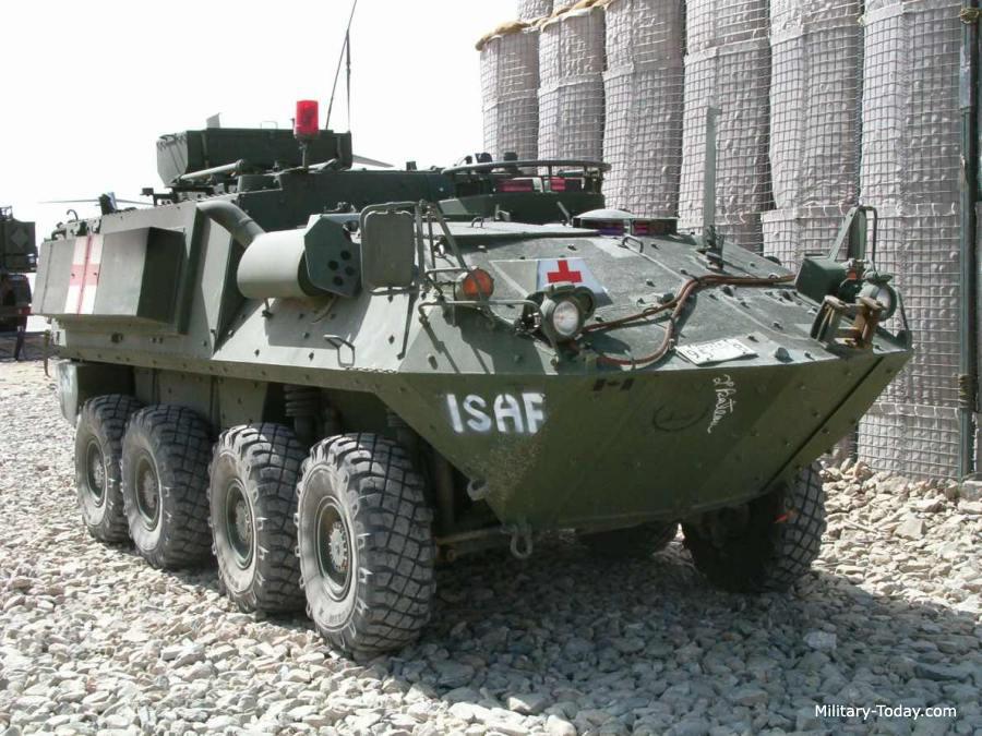Bison armored ambulance