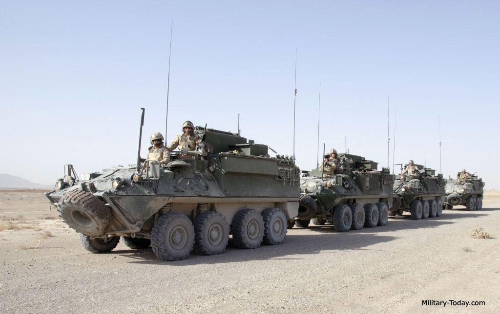 Bison command vehicle