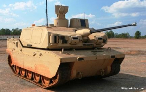 Black Knight Prototype Unmanned Combat Vehicle | Military-Today.com