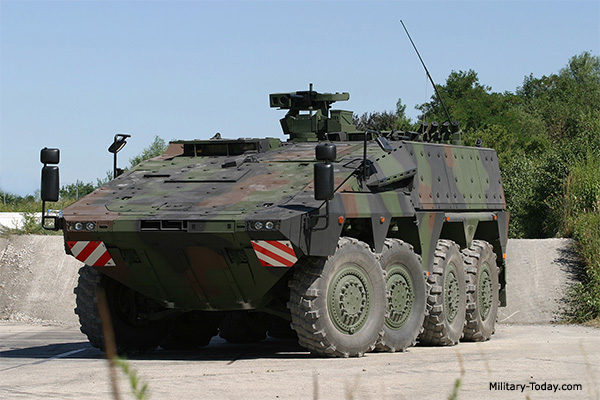 Top personnel carriers
