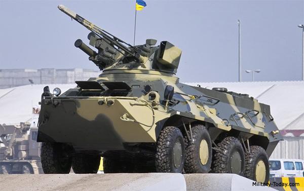 BTR-3U APC