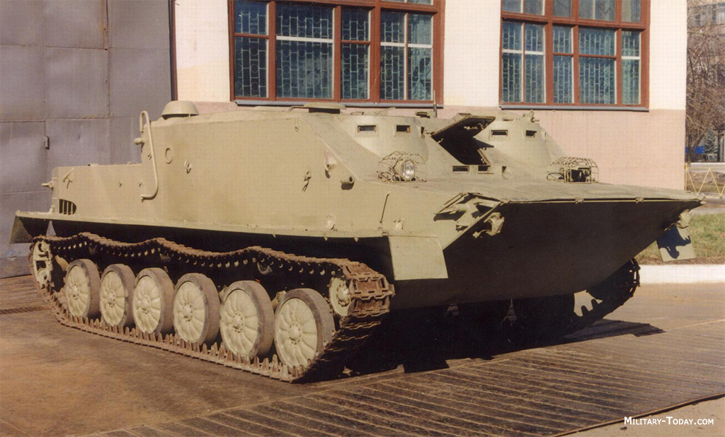 Improved BTR-50P APC