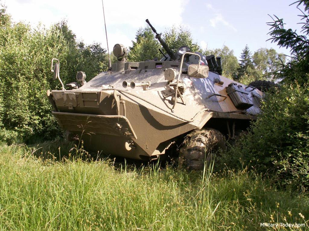 Russian BTR-60 Apc