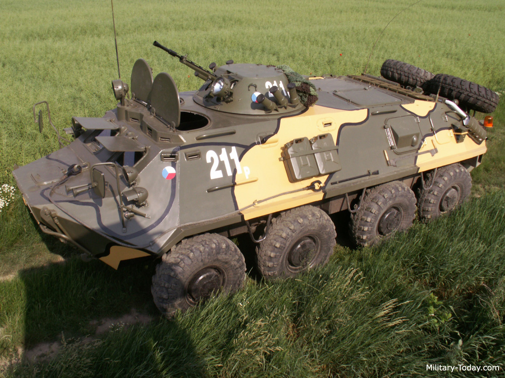 BTR 60 Armored Personnel Carrier