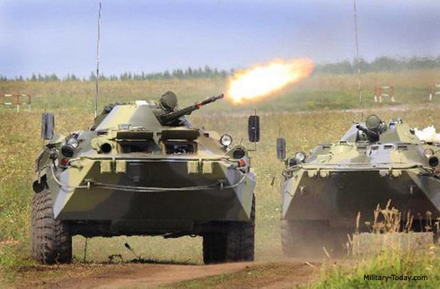 Resultado de imagen de BTR-80,