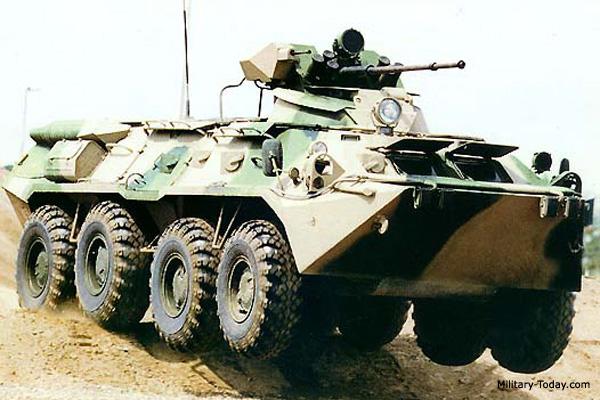 BTR-80A APC