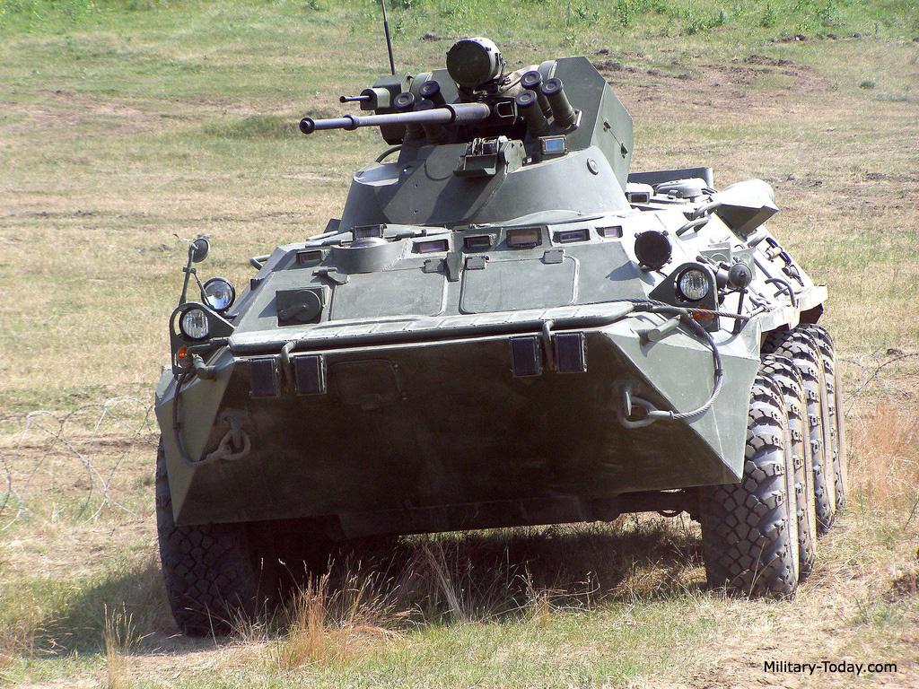 BTR-80M APC