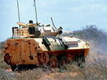 Cougar armored reconnaissance vehicle