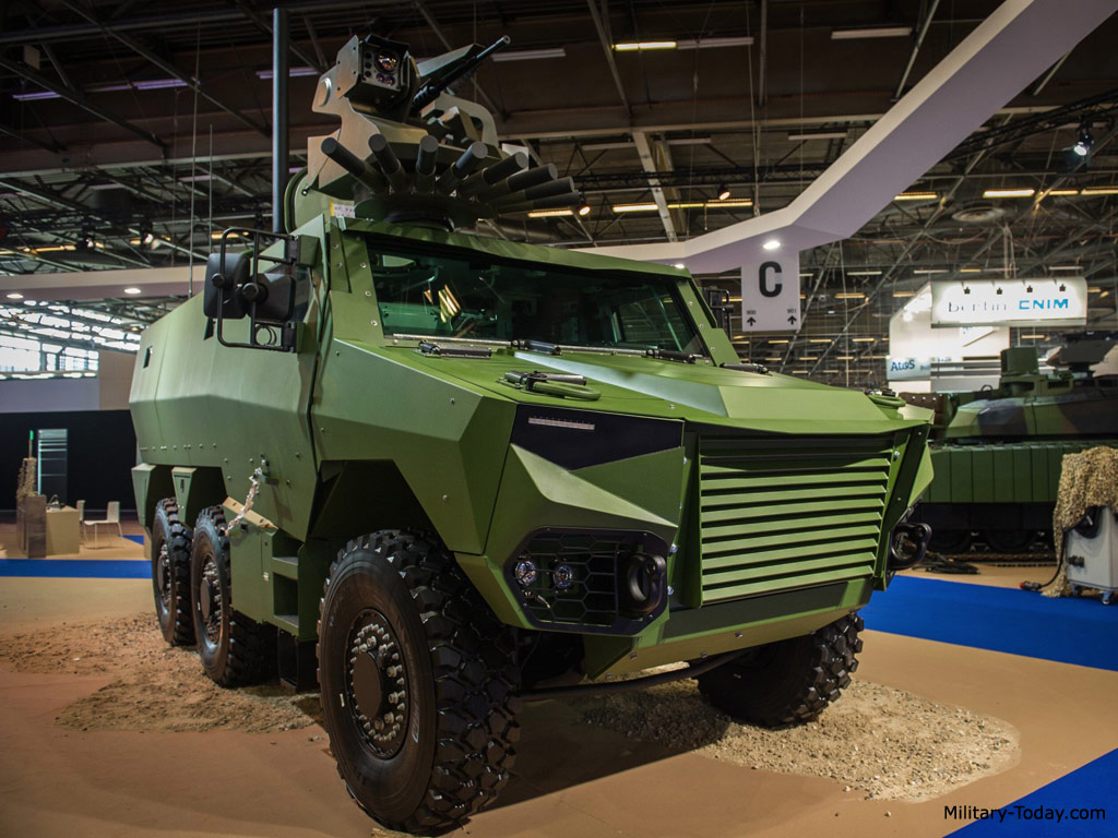 Griffon armored personnel carrier
