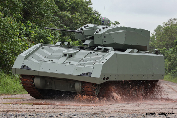 Best infantry fighting vehicles