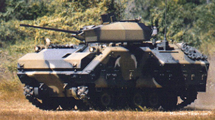 KIFV IFV with 25-mm cannon