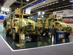 Kirpi 4x4 and 6x6 MRAP vehicles