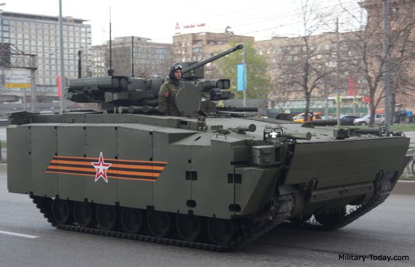 Top 10 armoured fighting vehicles