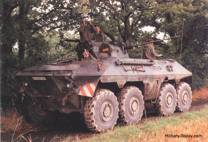 Luchs reconnaissance vehicle