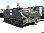 M113A3 armored ambulance
