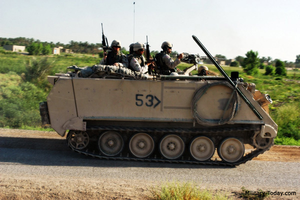 M113A3 Armored Personnel Carrier | Military-Today.com