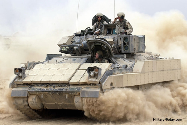 M2 Bradley Infanty Fighting Vehicle Military Today Com