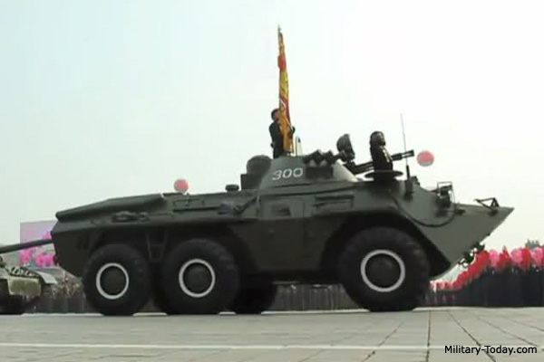 North Korean 6x6 APC