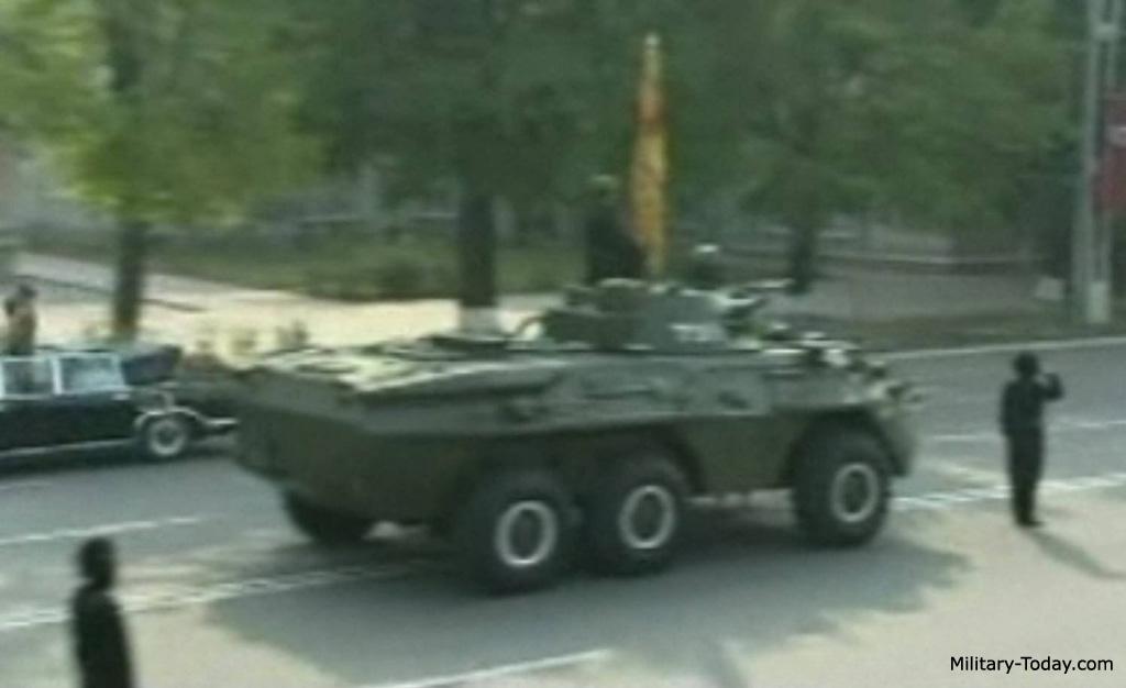 North Korean 6x6 APC