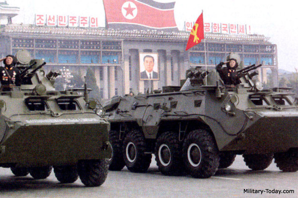 North Korean 8x8 APC