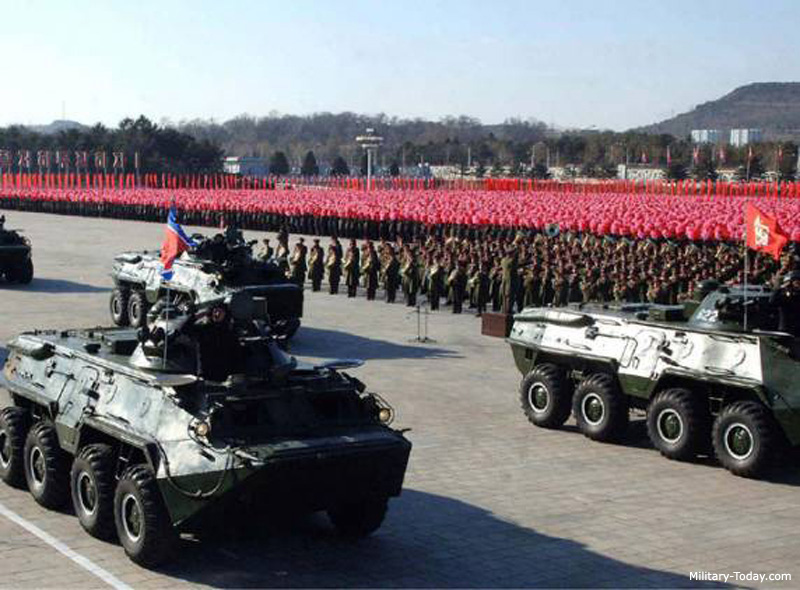 North Korean 8x8 APC