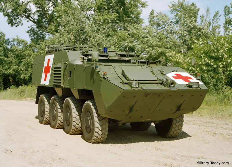 Pandur II ambulance