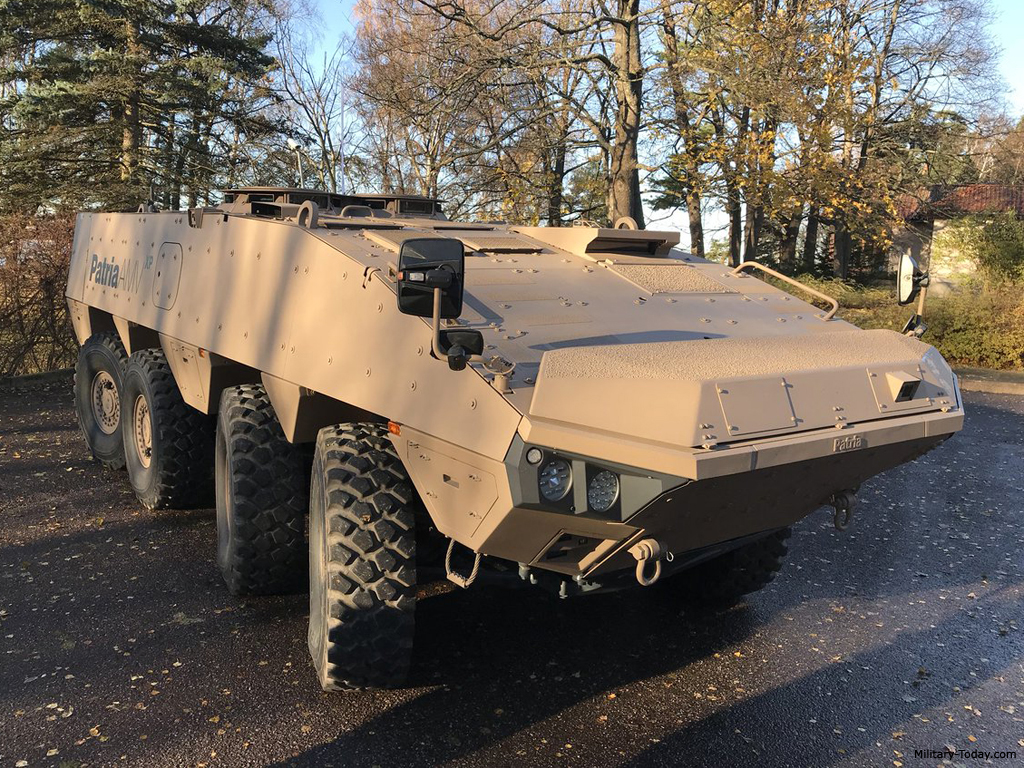 Finnish Patria Strikes Significant AMV Deal With UAE