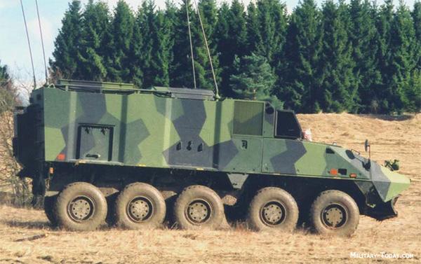 Piranha ACV command vehicle