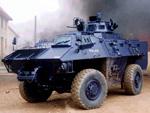Simba internal security vehicle